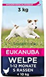 Eukanuba Welpenfutter mit frischem Huhn für kleine Rassen, Premium...