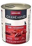 animonda GranCarno Hundefutter Junior, Nassfutter für Hunde im...