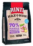 Rinti Max-i-Mum Senior Huhn Trockenfutter für Hunde, 2er Pack (2 x 4...