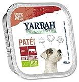 Yarrah Pate Rind Spirulina 150g Bio Hundefutter, 12er Pack (12 x 0.15...