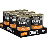 CRAVE Premium Pastete mit Huhn & Truthahn für Hunde –...