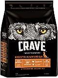 CRAVE Premium Trockenfutter mit Truthahn & Huhn für Hunde –...