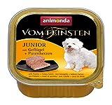 animonda Vom Feinsten Hundefutter Junior, Nassfutter für Hunde im...