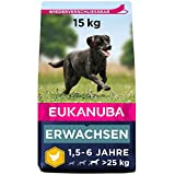 Eukanuba Hundefutter mit frischem Huhn für große Rassen, Premium...
