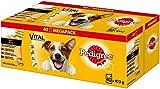 Pedigree Hundefutter Nassfutter Adult in Sauce, 40 Portionsbeutel (40...