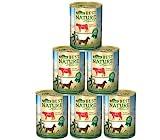 Dehner Best Nature Hundefutter Adult, Rind und Reis mit Distelöl, 6 x...