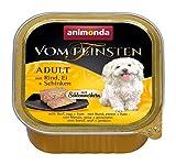 animonda Vom Feinsten Adult Hundefutter, Nassfutter für ausgewachsene...