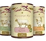 Terra Canis Classic Hundefutter 400g Dosen Mix für Hunde Größe 12 x...