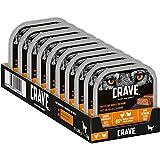 CRAVE Premium Pastete mit Truthahn & Huhn für Hunde –...