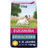 Eukanuba Hundefutter mit frischem Huhn für kleine Rassen, Premium...